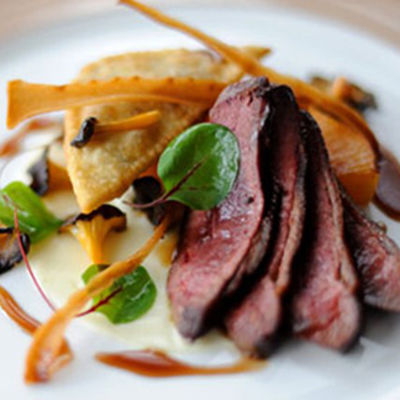 Places to eat on your holiday - The Hambrough Restaurant  Image