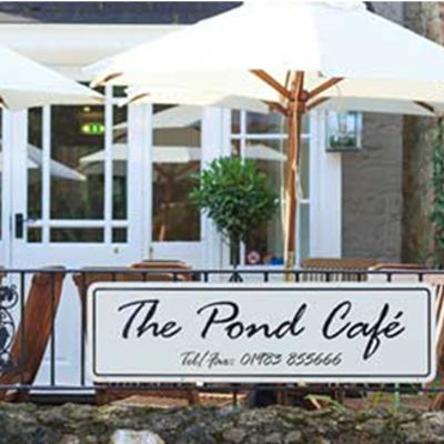 Places to eat on your holiday - The Pond Cafe in Bonchurch  Image