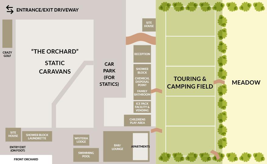 Appuldurcombe Gardens Park Site Map